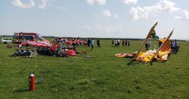 Noi detalii despre pilotul rănit în accidentul aviatic de la Suceava. Starea lui de sănătate s-a agravat