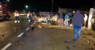 TRAGEDIE PE ŞOSEA! Doi morţi şi doi răniţi, după o coliziune violentă