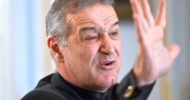 """Gigi Becali, nervos după eşecul cu Plzen: """"Parcă a uitat fotbalul"""""""
