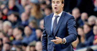 Antrenorul Julen Lopetegui a fost dat afară de la Real Madrid