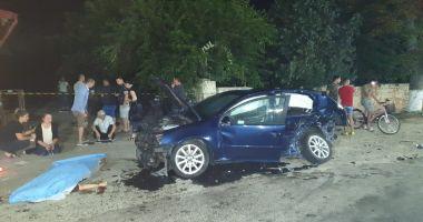GALERIE FOTO / ACCIDENT RUTIER GRAV la Mihail Kogălniceanu. O persoană A DECEDAT