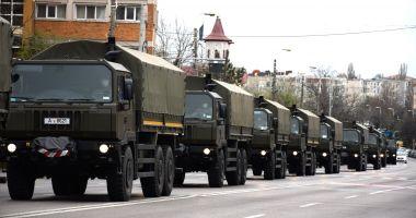 Peste 1.800 de militari au participat la acțiuni de prevenire a infectării cu COVID-19 în România