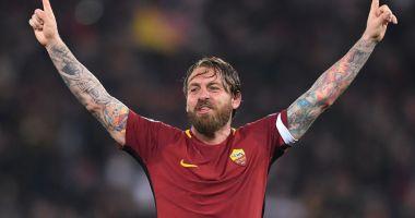 DESPĂRŢIRE EMOŢIONANTĂ! Căpitanul Daniele de Rossi pleacă după 18 ani de la AS Roma