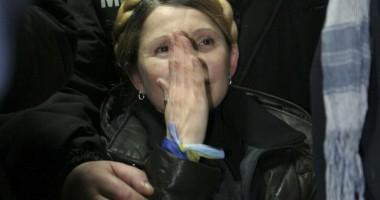 """Galerie FOTO ŞI VIDEO / Iulia Timosenko a fost eliberată: """"Dictatura s-a prăbuşit!"""""""