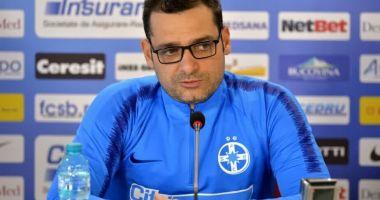 Antrenorul Mihai Teja s-a despărţit de FCSB