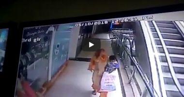 ATENŢIE, IMAGINI GREU DE PRIVIT! O mamă și-a ucis copilul, pe care l-a scăpat 3 etaje, în timp ce își făcea un selfie în mall