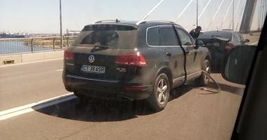 ACCIDENT RUTIER PE PODUL NOU DE LA AGIGEA! Traficul este blocat / UPDATE