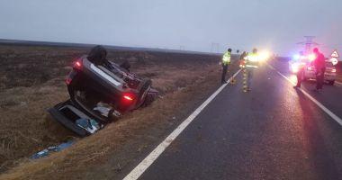 Foto : Doi tineri morţi, la Constanţa, într-un accident provocat de un şofer băut. GALERIE FOTO