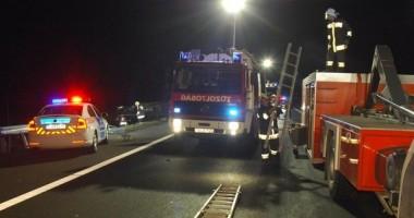 Tragedie rutieră / Şoferul tirului care a produs accidentul este tot român