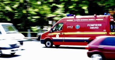Accident rutier la intersecția Nicolae Iorga cu Ion Lahovari din Constanța