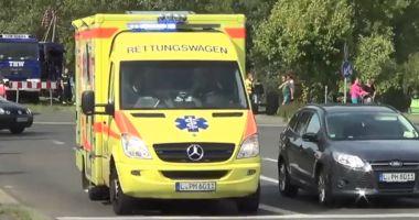 Germania: Cel puțin 40 de răniți, cei mai mulți copii, după ce două autobuze școlare s-au ciocnit frontal