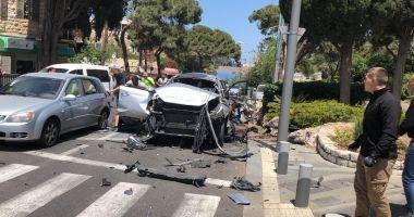 Israel: Un vehicul-capcană a explodat în oraşul Haifa