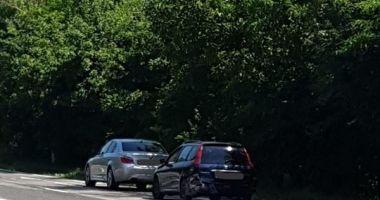 Accident rutier pe ruta Constanţa-Mangalia!