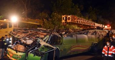 Accident cumplit, în Taiwan. Cel puţin 32 de morţi