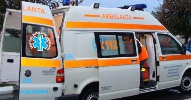 ACCIDENT RUTIER în Constanţa! Ambulanţa, solicitată de urgenţă să preia o victimă