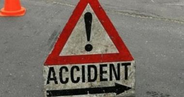 Accident rutier la ieşire din Constanţa spre Lazu