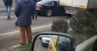 Accident la ieşire din Constanţa !