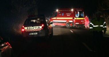 ACCIDENT RUTIER GRAV LA DOROBANŢU. Un bărbat a fost SPULBERAT de un camion