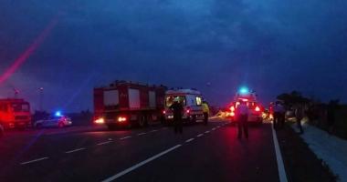 CARNAGIU �N CONSTAN�A / A MURIT �I A PATRA VICTIM� A ACCIDENTULUI DE LA MIHAI VITEAZU