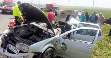 Victimele accidentului  din Dorobanţu, în stare critică