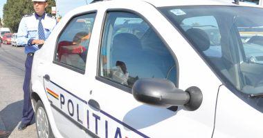 Prins de poliţişti la volan beat, fără a deţine permis de conducere!