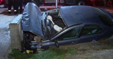 Accident cu doi morţi, pe E85. Ambele victime erau adolescenţi