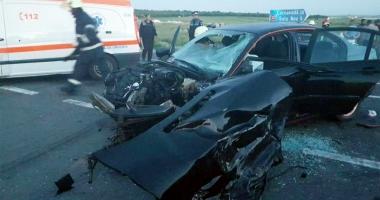 Grav accident rutier.  Cinci victime în urma unei posibile curse ilegale de maşini