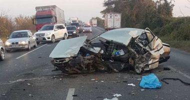 TRAGEDIE RUTIERĂ pe DN 2! Un bărbat a murit şi altul a fost rănit