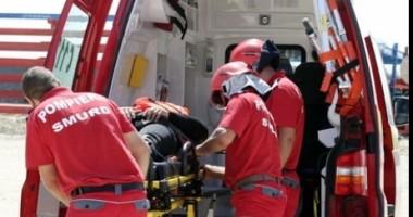 Accident rutier grav la 12 km de Hârşova, spre Constanţa