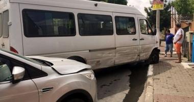 Accident cu �ase victime la Medgidia. Doi copii transporta�i la spital