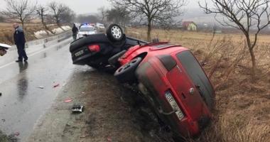 Grav accident rutier. Cinci victime, din cauza unei depăşiri neregulamentare