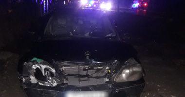 Accident la Eforie. A condus beat şi cu permisul suspendat