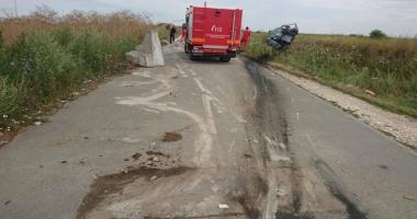 Zi neagră la Constanţa!  Poliţist şi militar morţi  în accidente rutiere