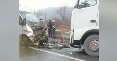 Grav accident de microbuz! A FOST ACTIVAT PLANUL ROŞU!