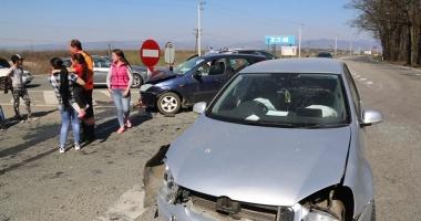 ACCIDENT GRAV. O gravidă şi şase persoane rănite