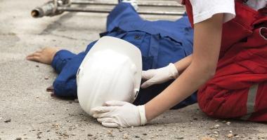 Accidente de muncă. Iată ce au păţit câţiva lucrători