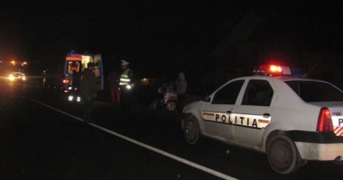 Bărbat decedat după ce s-a răsturnat cu maşina, la Tuzla.