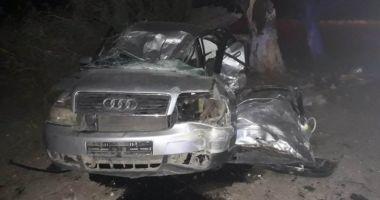 Trei victime, în urma unui accident produs de un tânăr fără permis