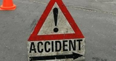 Accident rutier în lanţ, în Constanţa