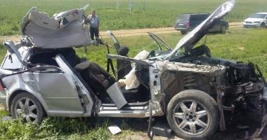 Elicopterul SMURD, în misiune. Accident rutier la Constanţa, soldat cu cinci victime