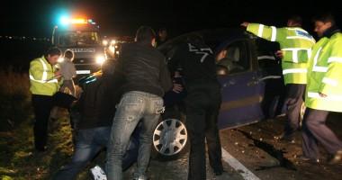 Accident cu victime pe B-dul Alexandru Lăpuşneanu. Şoferul a fugit