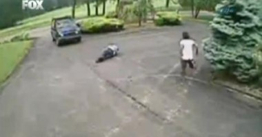 Cel mai ridicol accident din istorie  / VIDEO