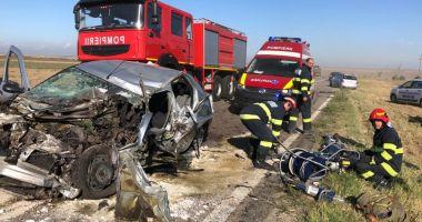 Accident grav între Hârșova și Stupina