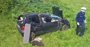 Grav accident rutier. Un bărbat a murit, iar restul familiei a ajuns în stare gravă la spital