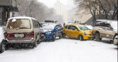 Prima NINSOARE a provocat haos! 256 accidente în doar câteva ore
