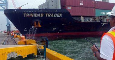 Acostare cu bucluc, în portul Puerto Cortes