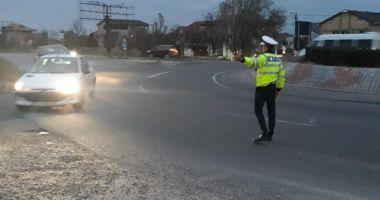 Razie pe şoselele din Constanţa. Câţi şoferi au rămas fără permis de conducere