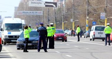 Acţiuni ale poliţiştilor constănţeni, în cooperare cu jandarmi