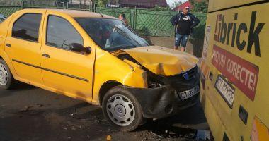 GALERIE FOTO / Accident rutier în cartierul Km 5. O victimă