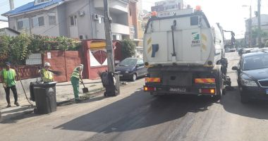 Administrația locală continuă igienizarea în Constanța